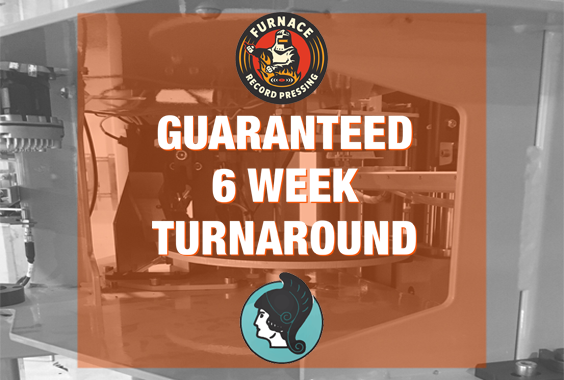 Furnace & Pallas USA Guaranteed 6 week 12″ Vinyl Turnaround!
