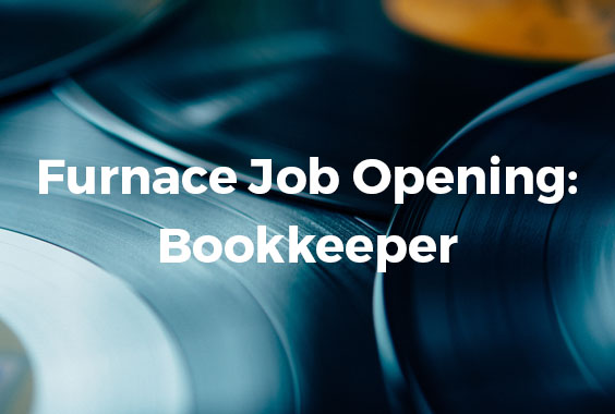 Furnace Job Opening: Bookkeeper